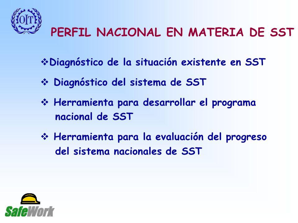 PERFIL NACIONAL EN MATERIA DE SST