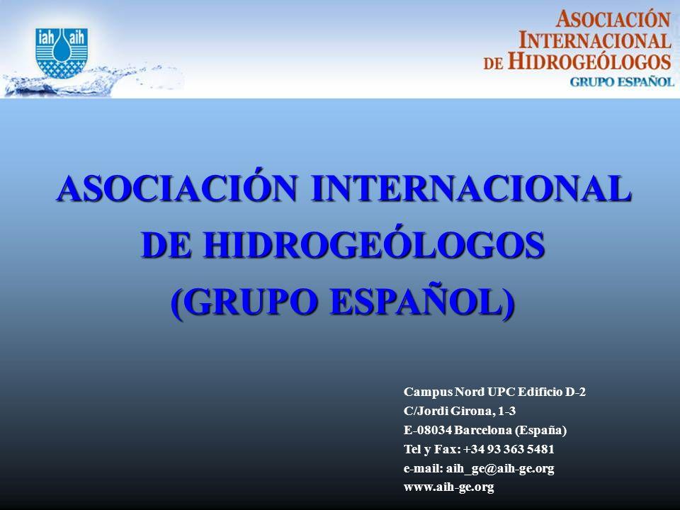 ASOCIACIÓN INTERNACIONAL DE HIDROGEÓLOGOS