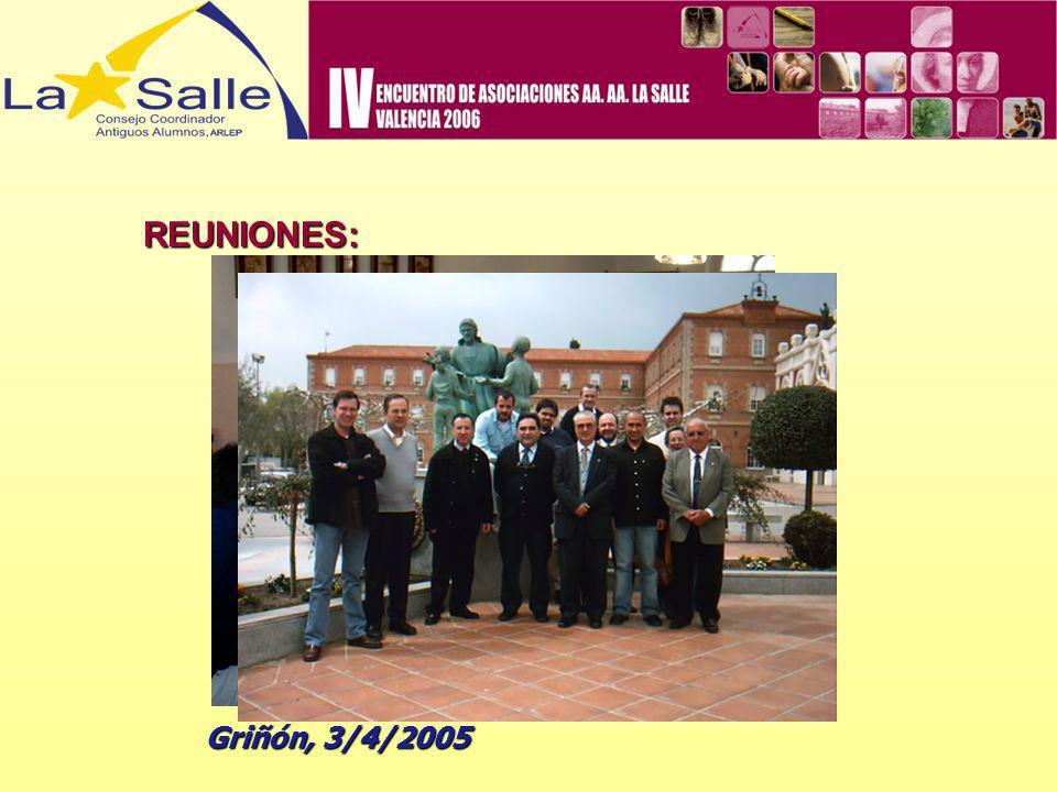 REUNIONES: Griñón, 3/4/2005
