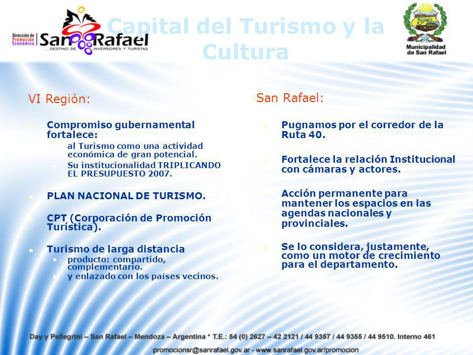 Capital del Turismo y la Cultura