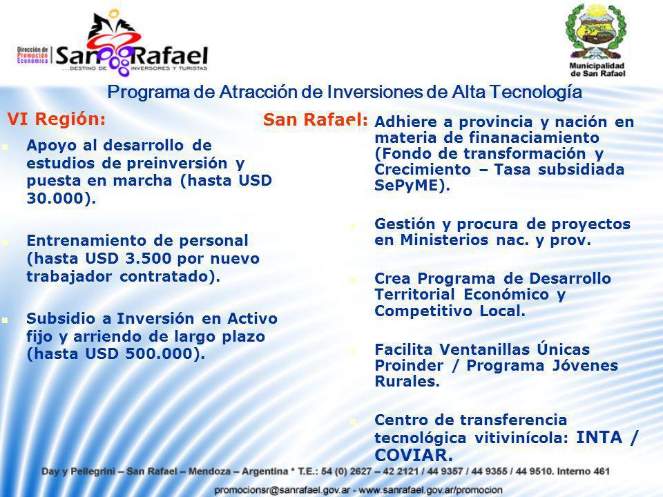 Programa de Atracción de Inversiones de Alta Tecnología