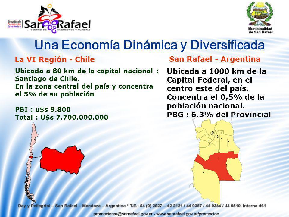 Una Economía Dinámica y Diversificada