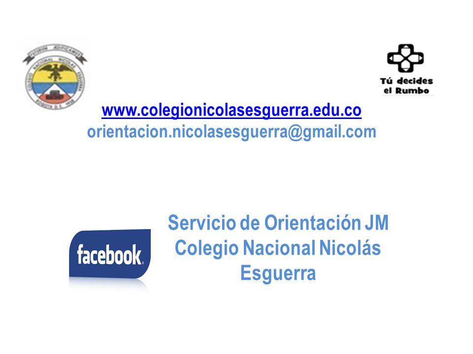 Servicio de Orientación JM Colegio Nacional Nicolás Esguerra