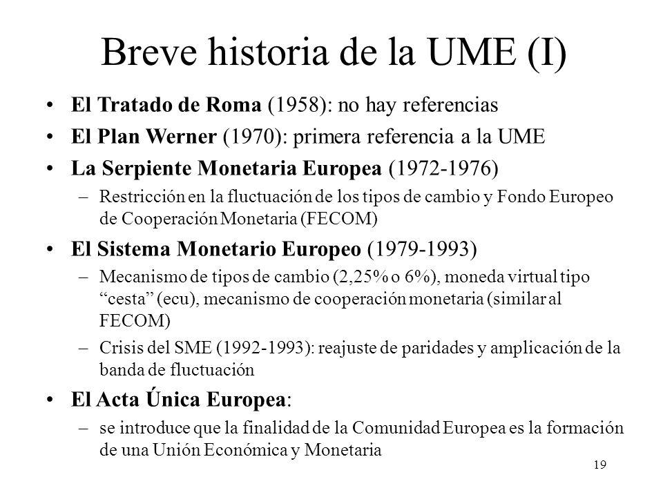Breve historia de la UME (I)