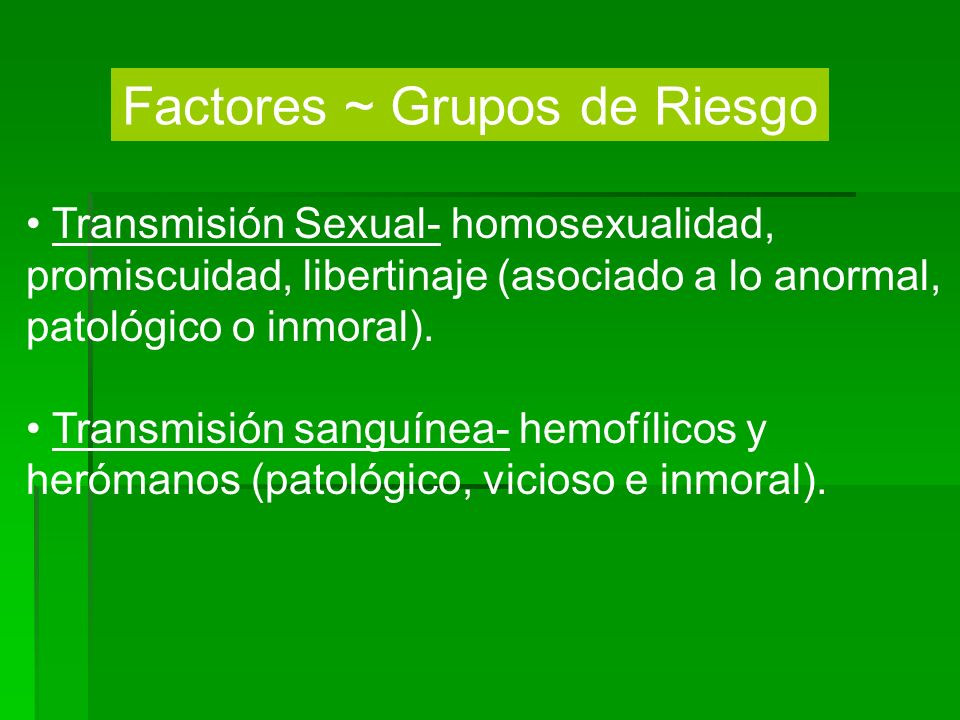 Factores ~ Grupos de Riesgo