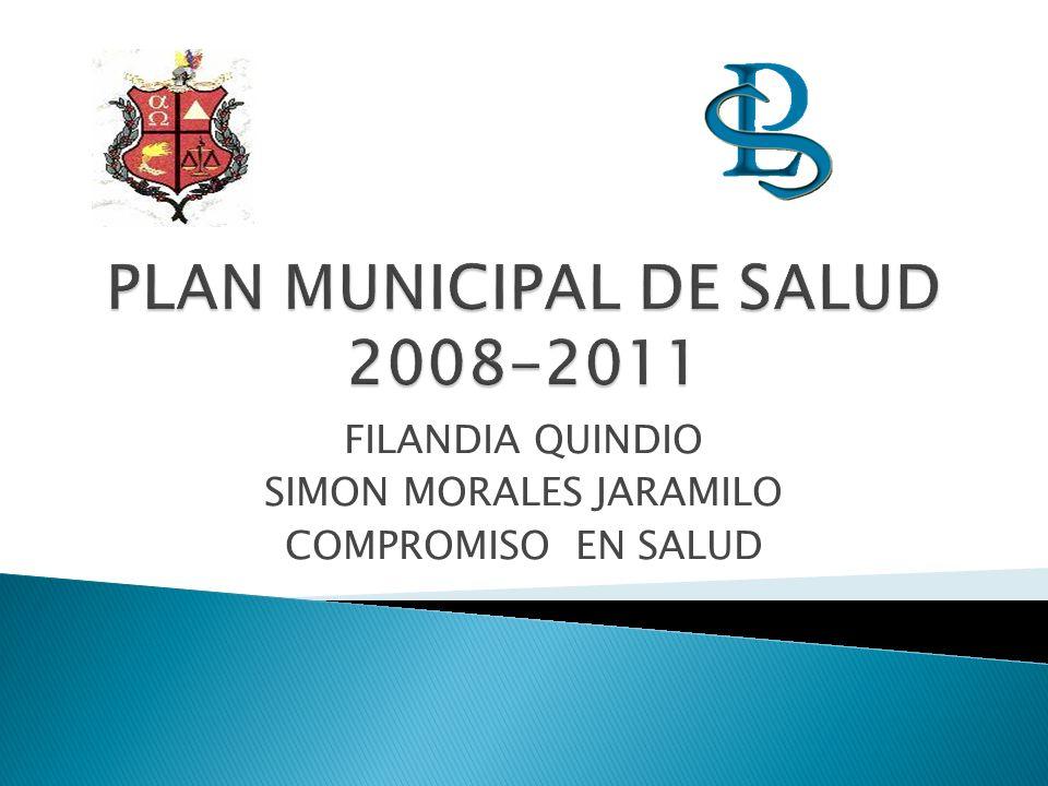 PLAN MUNICIPAL DE SALUD 2008-2011