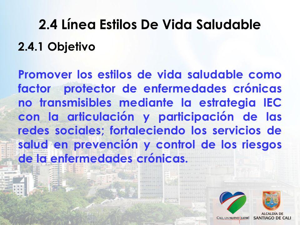 2.4 Línea Estilos De Vida Saludable