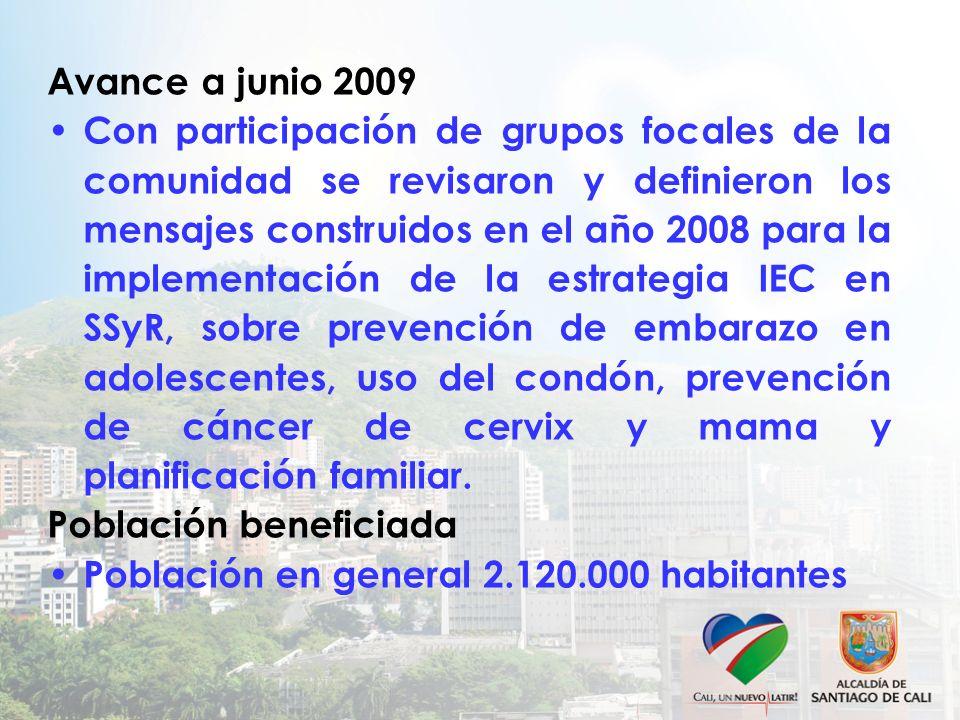 Avance a junio 2009