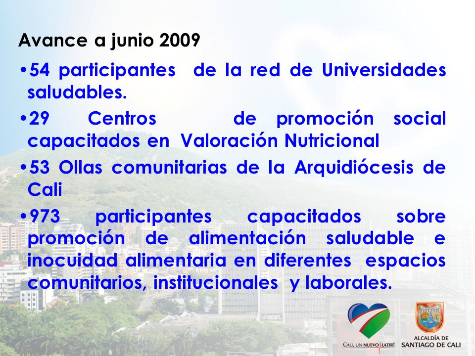 54 participantes de la red de Universidades saludables.