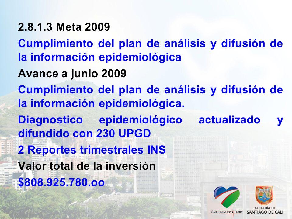 Diagnostico epidemiológico actualizado y difundido con 230 UPGD