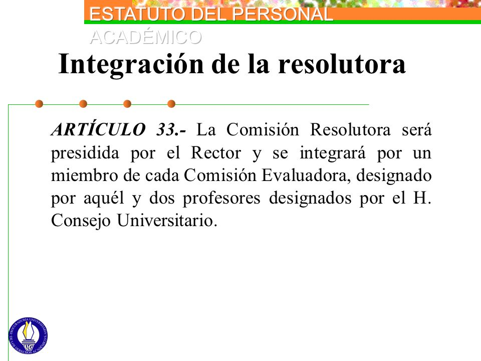 Integración de la resolutora