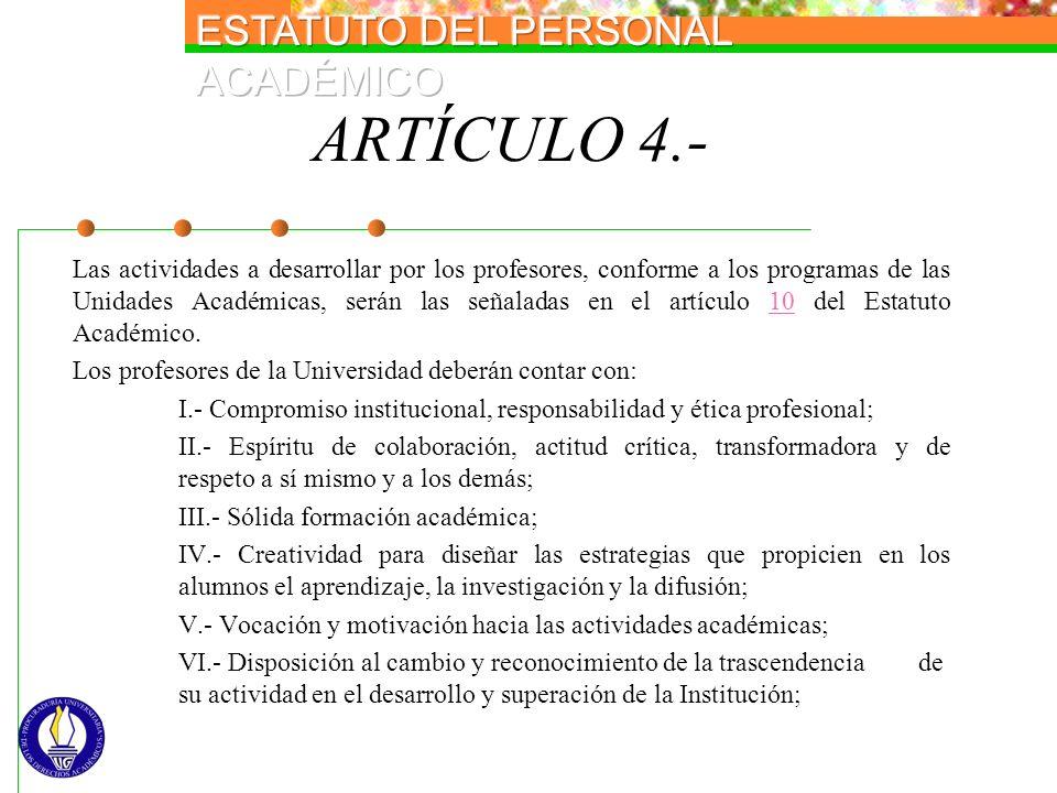ARTÍCULO 4.-