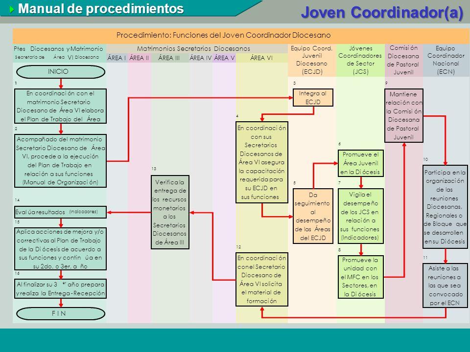 Joven Coordinador(a) Manual de procedimientos 124