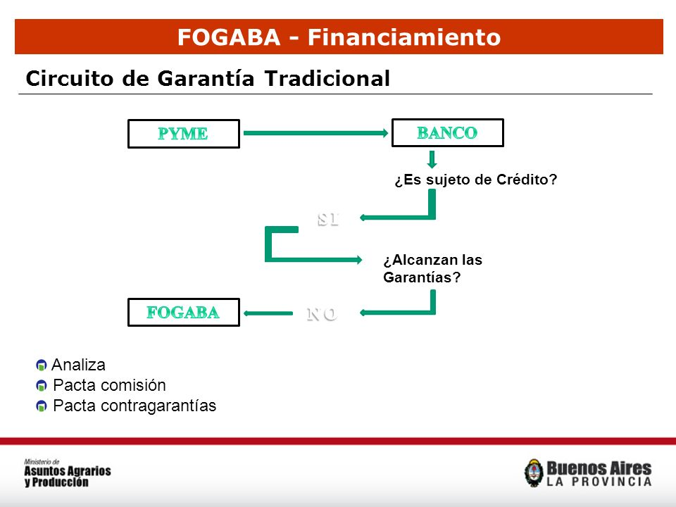 FOGABA - Financiamiento