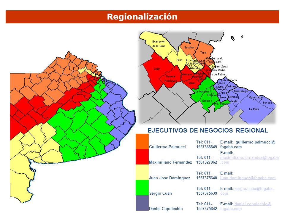 EJECUTIVOS DE NEGOCIOS REGIONAL