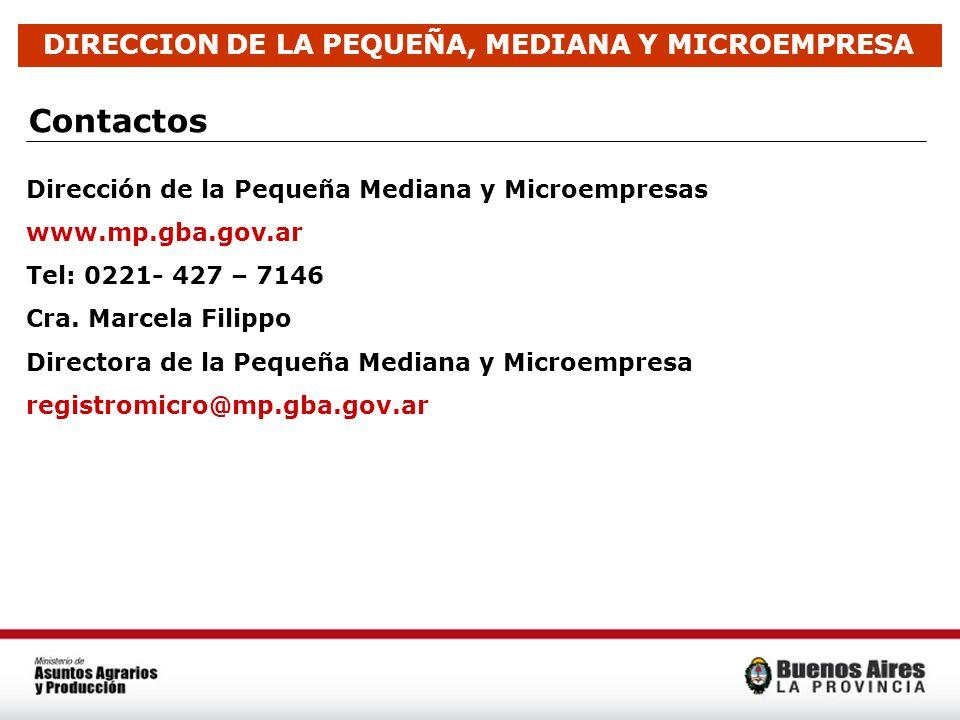 DIRECCION DE LA PEQUEÑA, MEDIANA Y MICROEMPRESA
