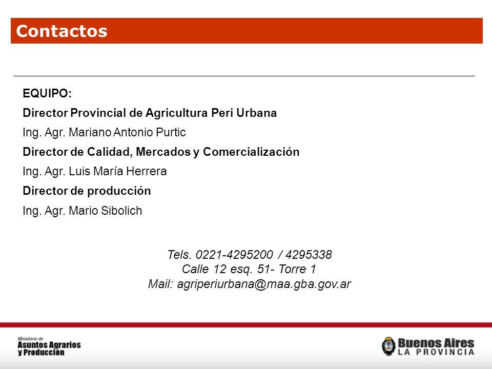 Mail: agriperiurbana@maa.gba.gov.ar
