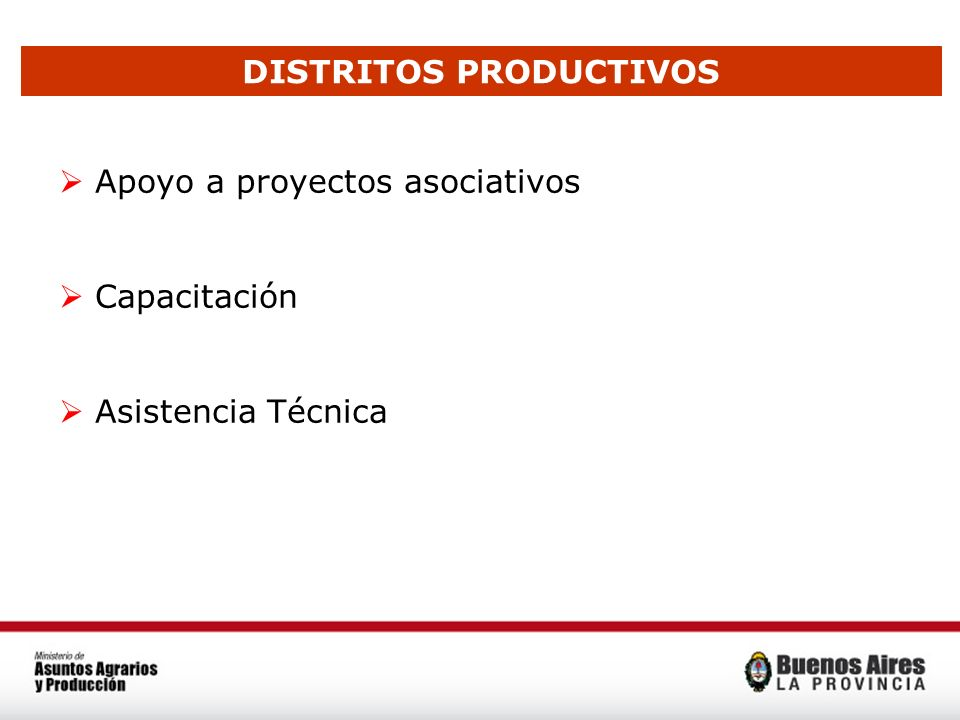 DISTRITOS PRODUCTIVOS