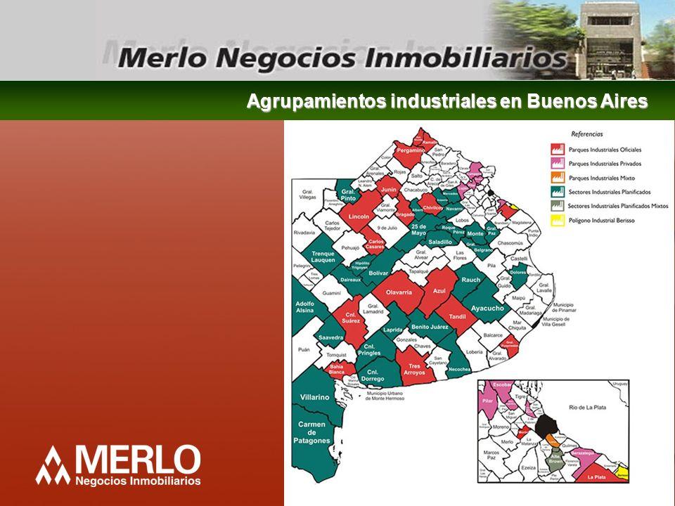 Agrupamientos industriales en Buenos Aires
