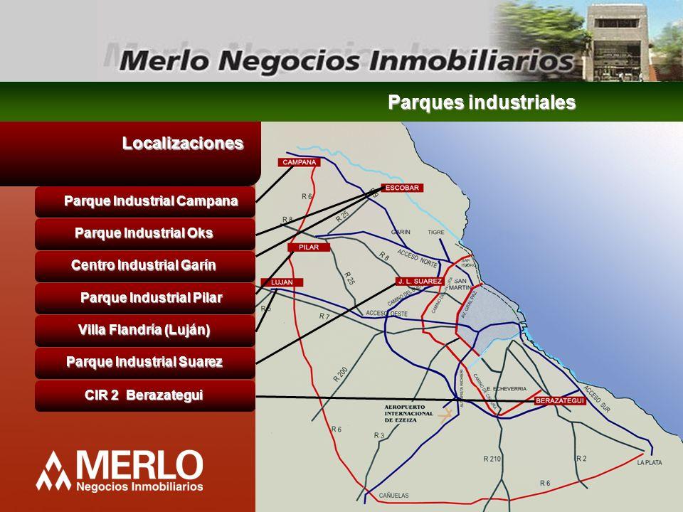 Parques industriales Localizaciones Parque Industrial Campana