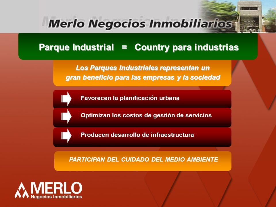 Parque Industrial = Country para industrias