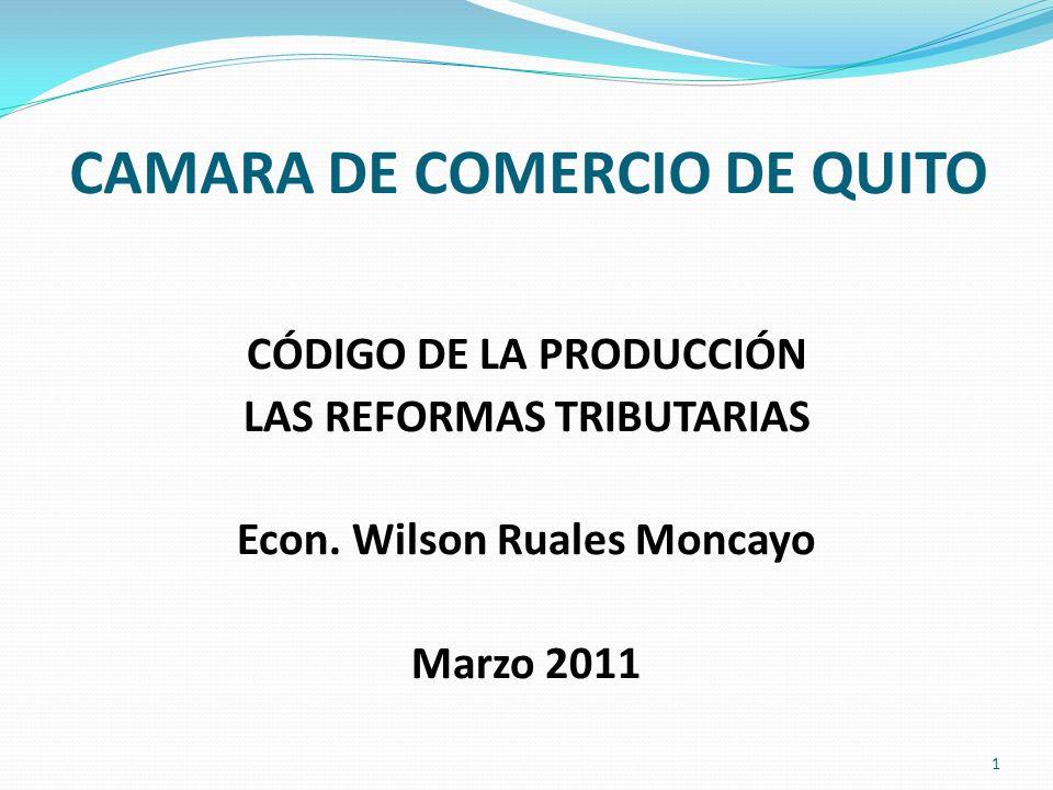 CAMARA DE COMERCIO DE QUITO