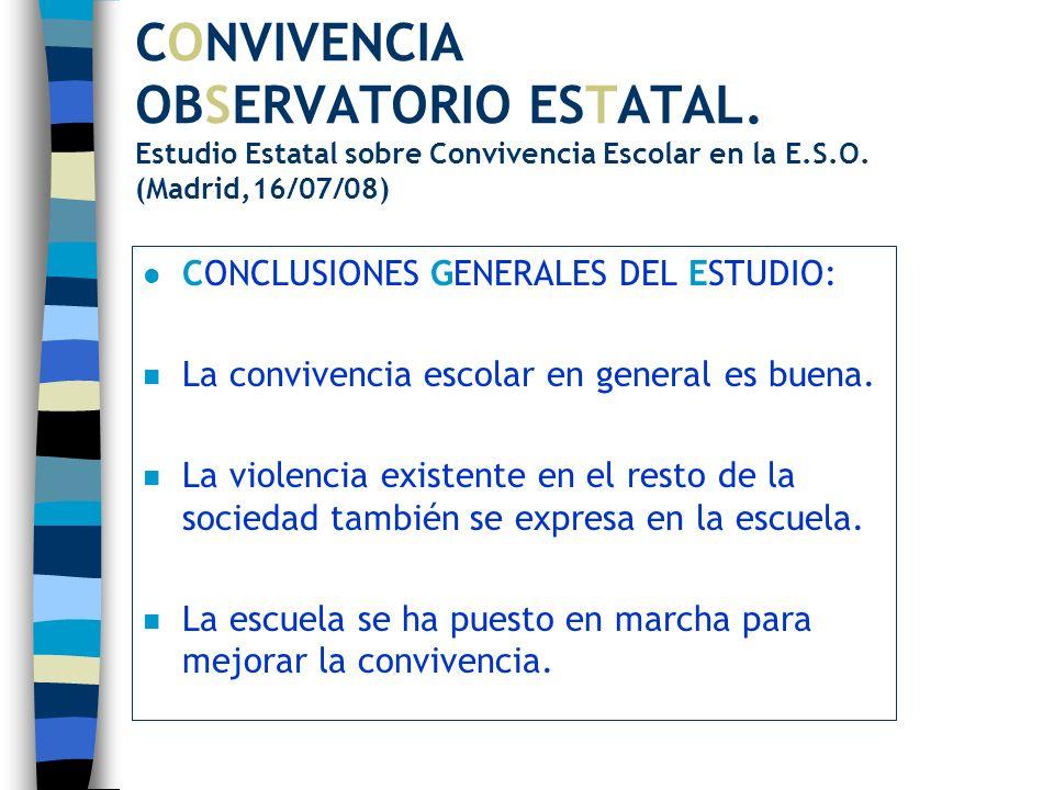 CONVIVENCIA OBSERVATORIO ESTATAL