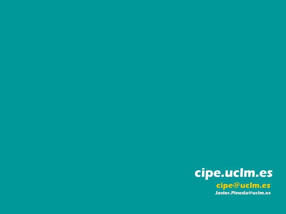 cipe.uclm.es cipe@uclm.es Javier.Pineda@uclm.es