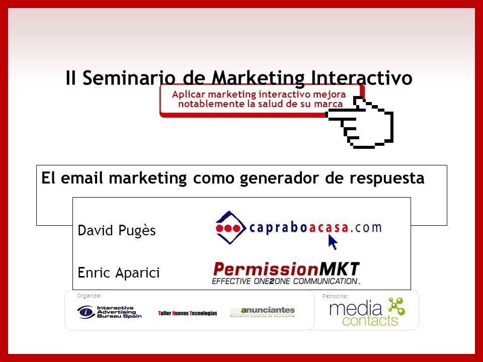 El email marketing como generador de respuesta