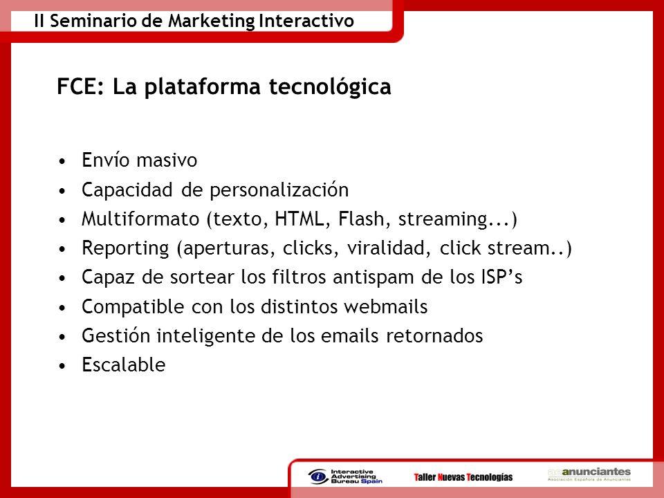 FCE: La plataforma tecnológica