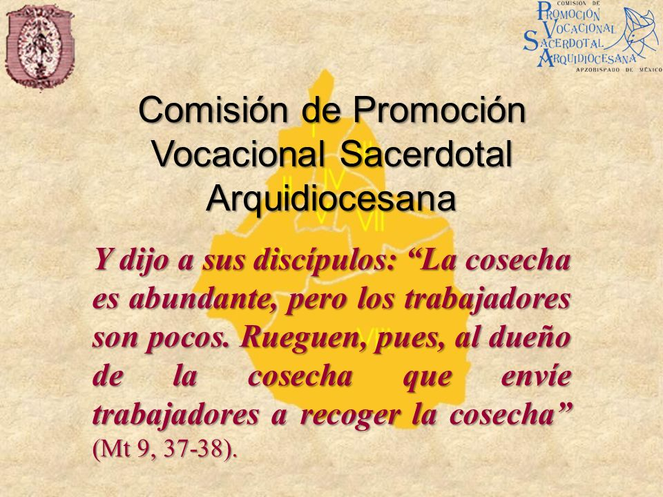 Comisión de Promoción Vocacional Sacerdotal Arquidiocesana