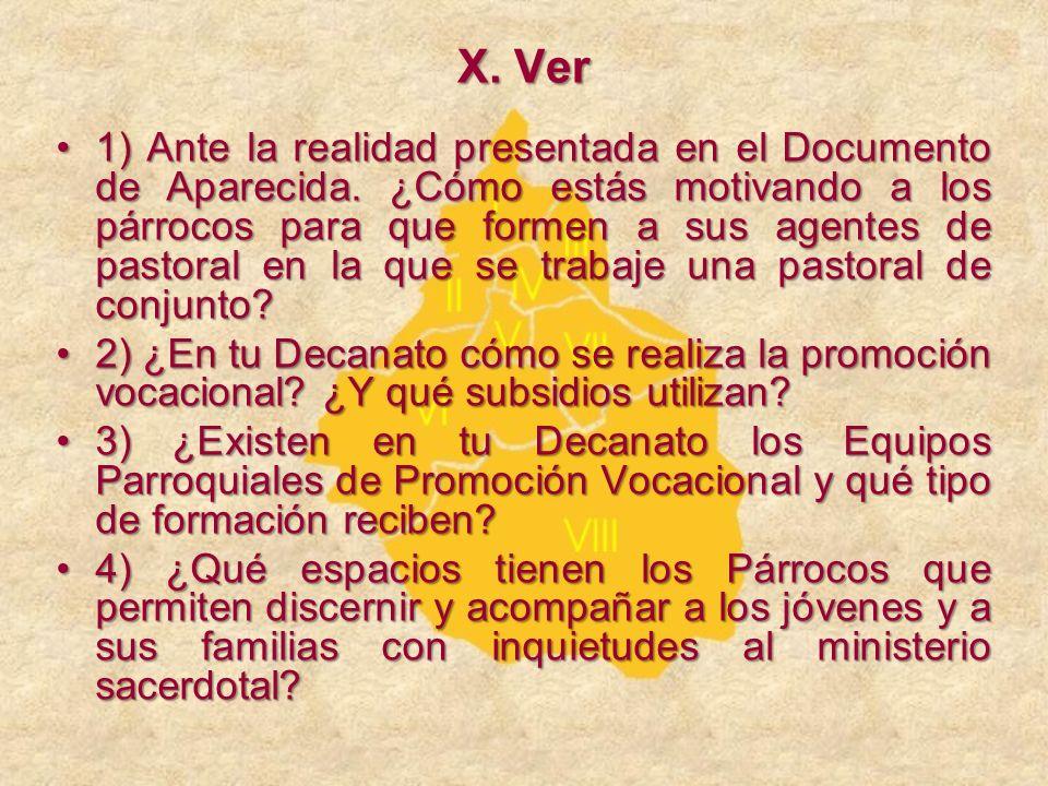 X. Ver