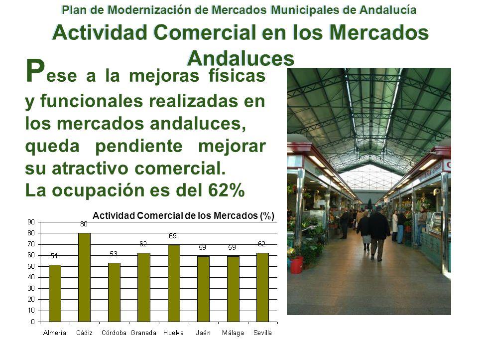 Plan de Modernización de Mercados Municipales de Andalucía