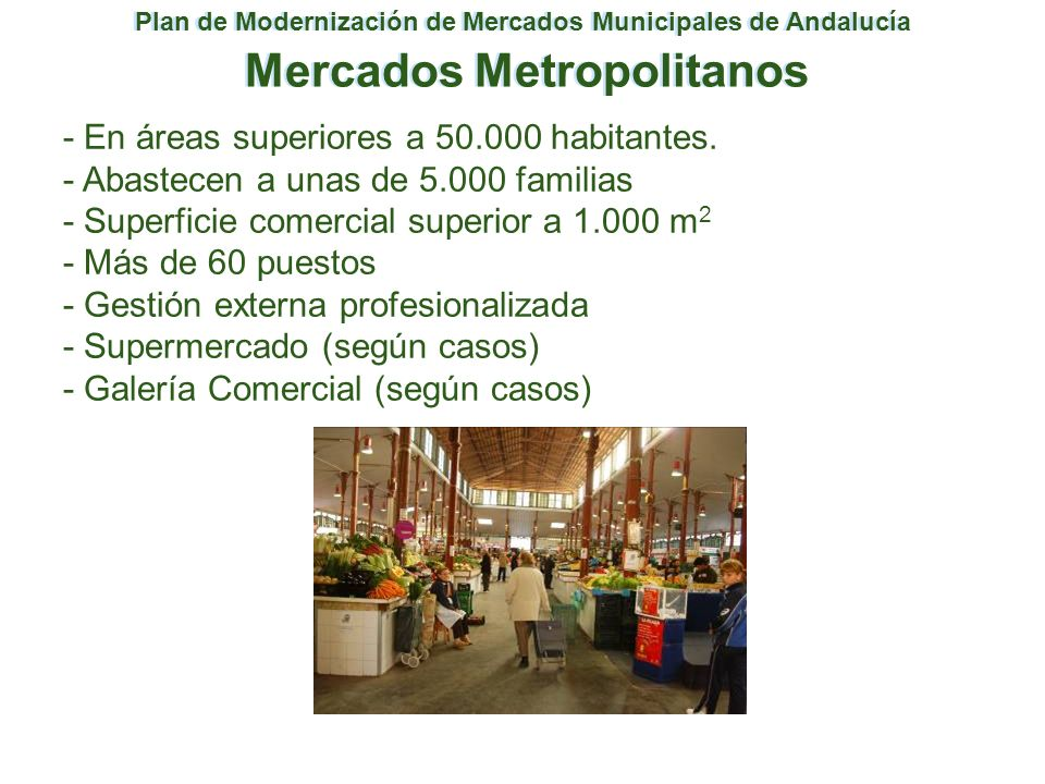 Mercados Metropolitanos