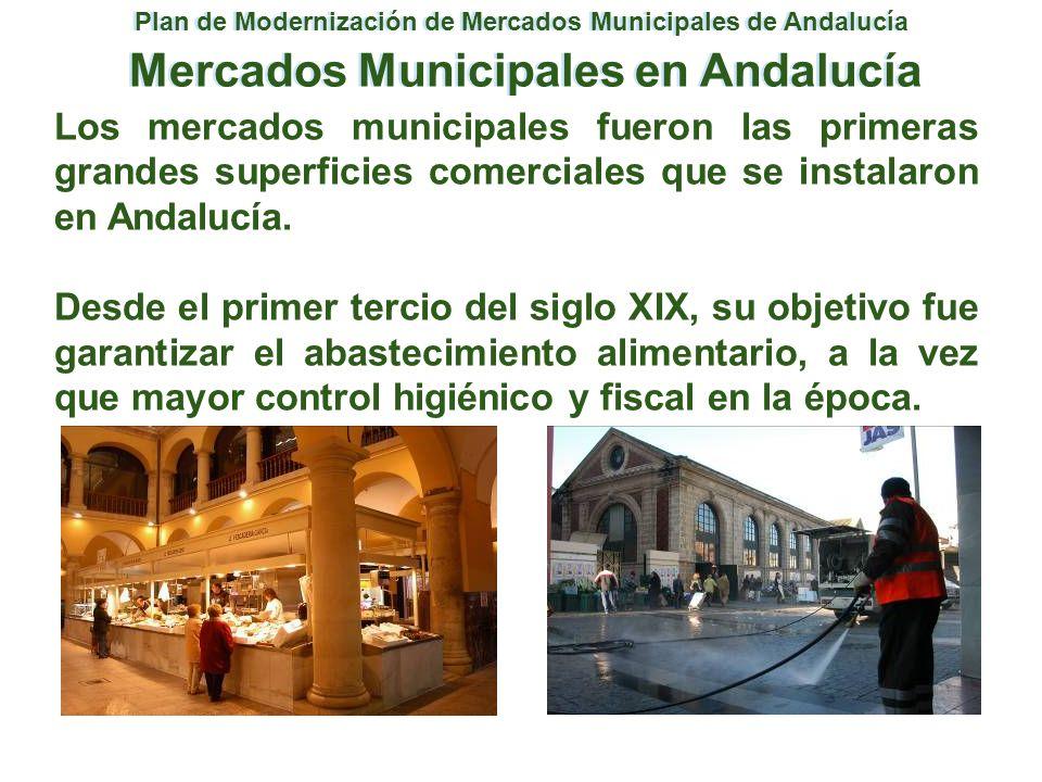 Mercados Municipales en Andalucía