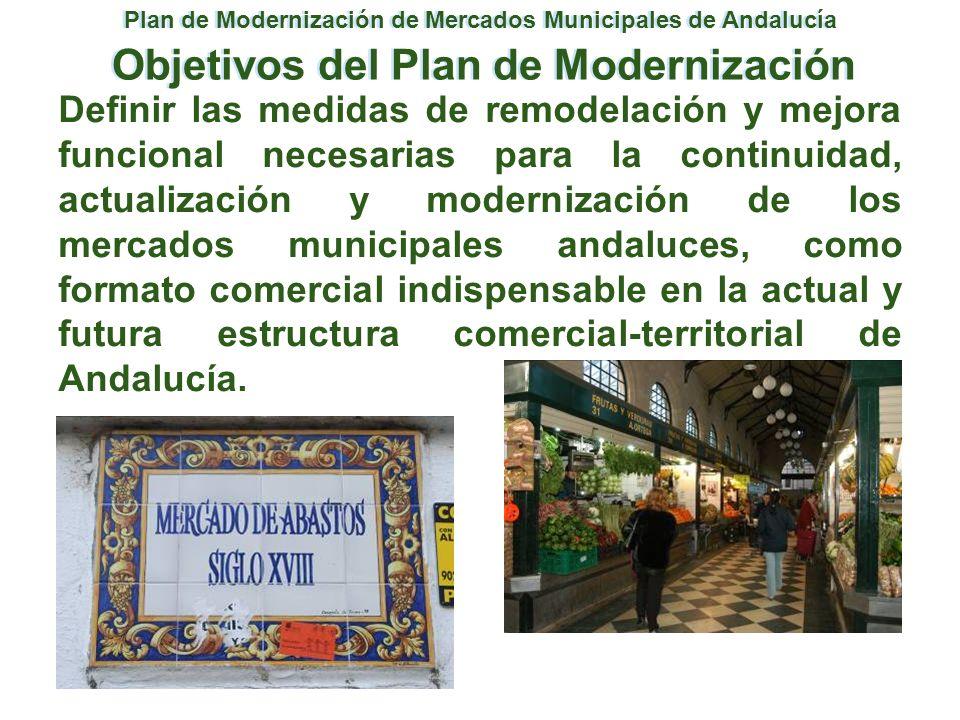 Objetivos del Plan de Modernización