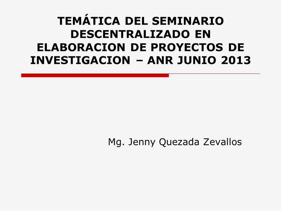 Mg. Jenny Quezada Zevallos
