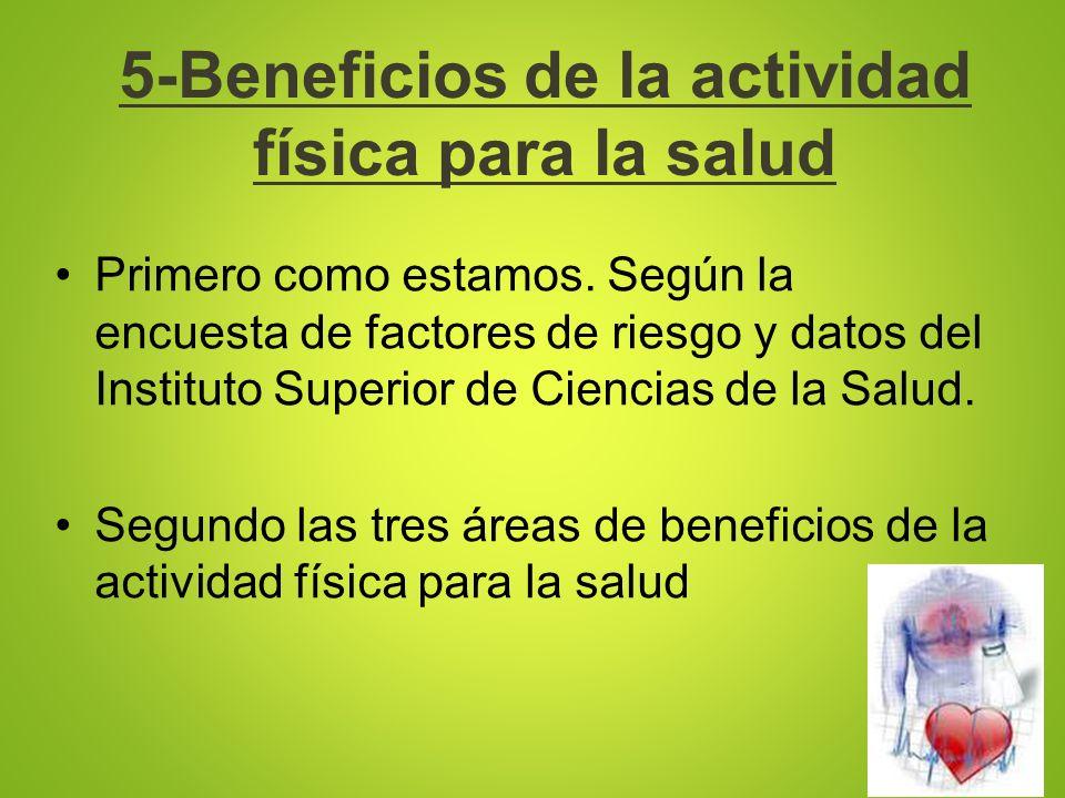 5-Beneficios de la actividad física para la salud