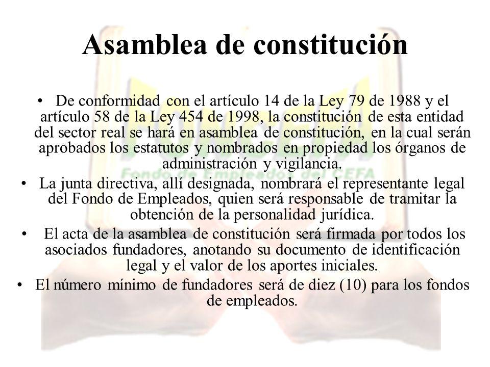 Asamblea de constitución