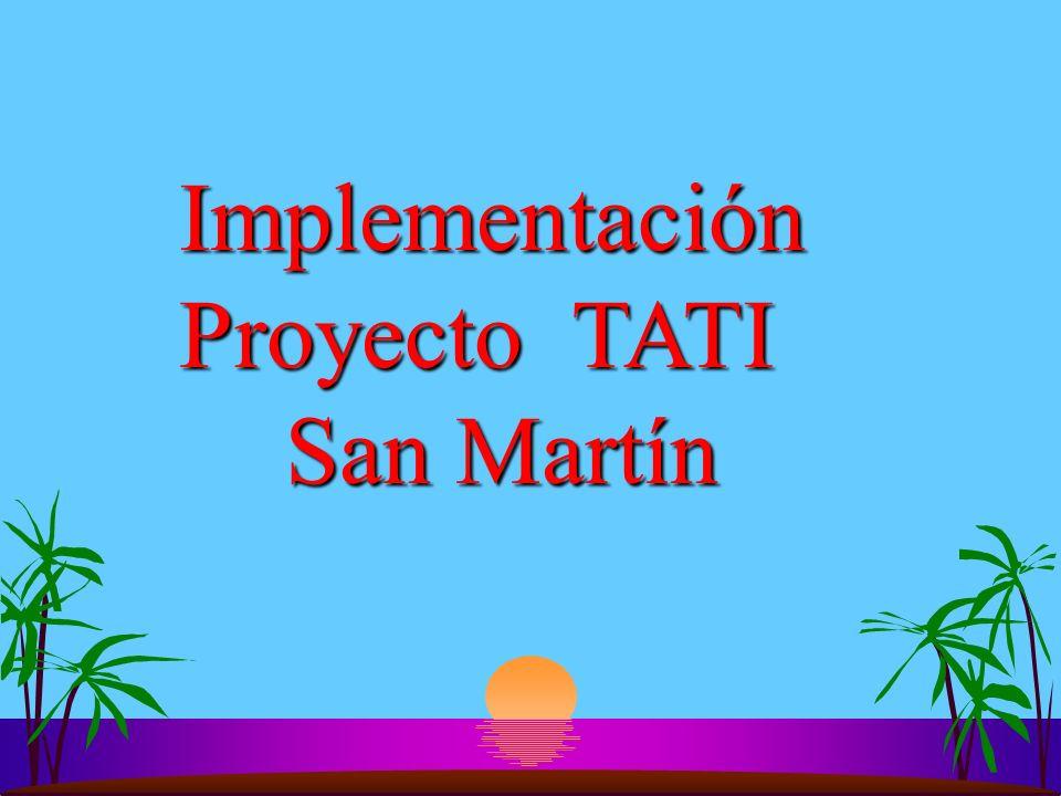 Implementación Proyecto TATI
