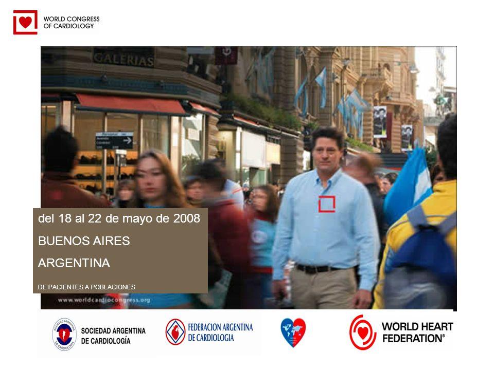 del 18 al 22 de mayo de 2008 BUENOS AIRES ARGENTINA