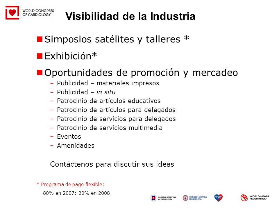 Visibilidad de la Industria