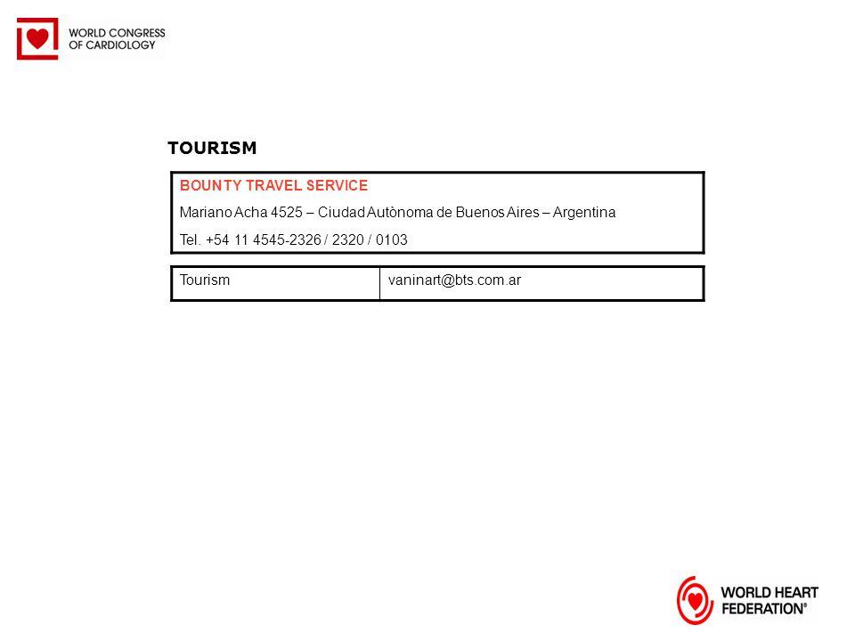 TOURISM BOUNTY TRAVEL SERVICE