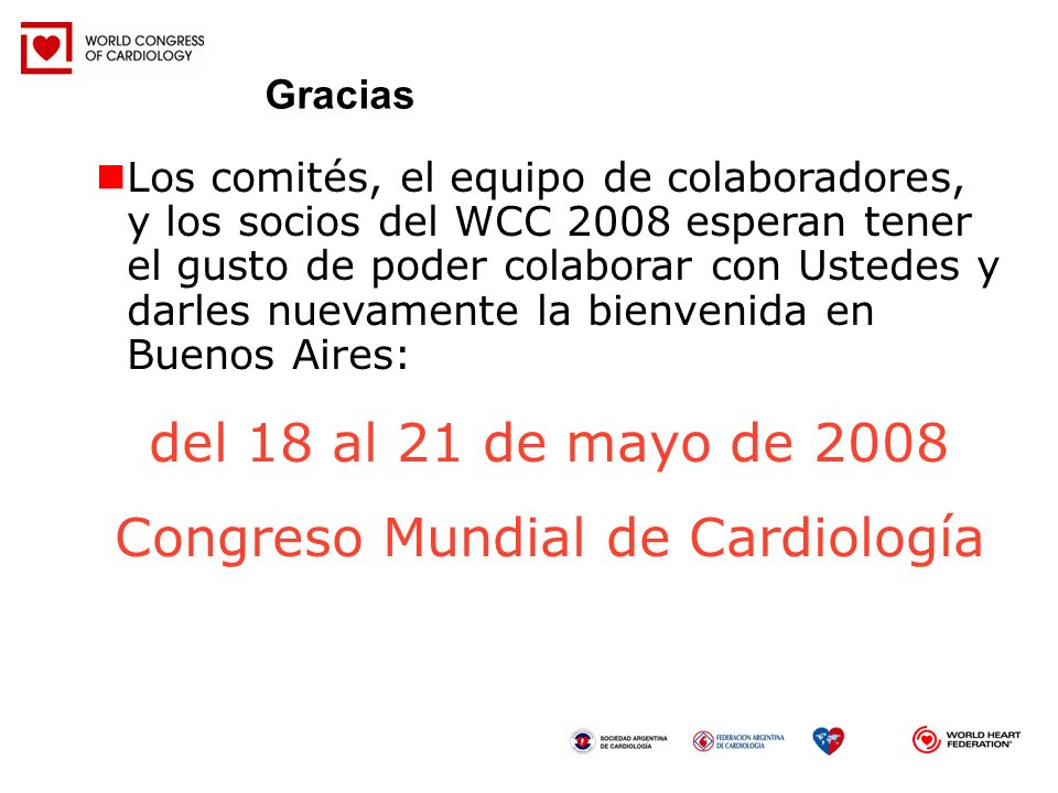 Congreso Mundial de Cardiología