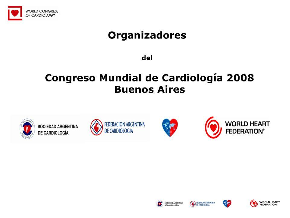 Congreso Mundial de Cardiología 2008 Buenos Aires
