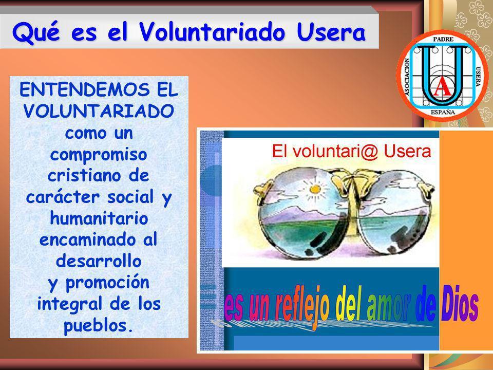 Qué es el Voluntariado Usera