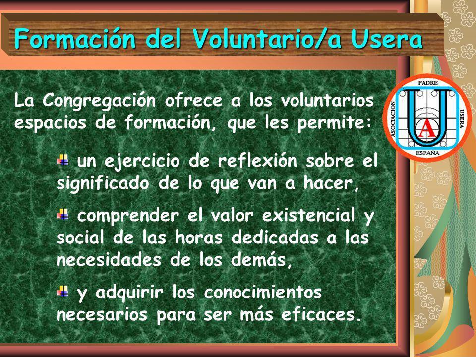 Formación del Voluntario/a Usera