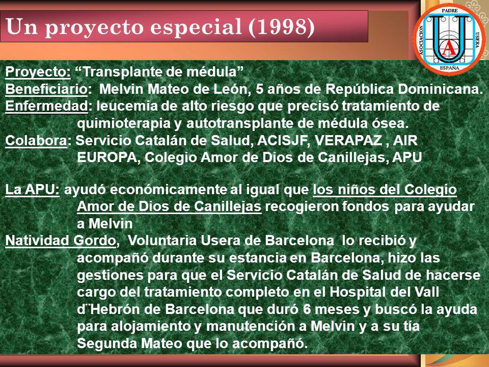Un proyecto especial (1998)