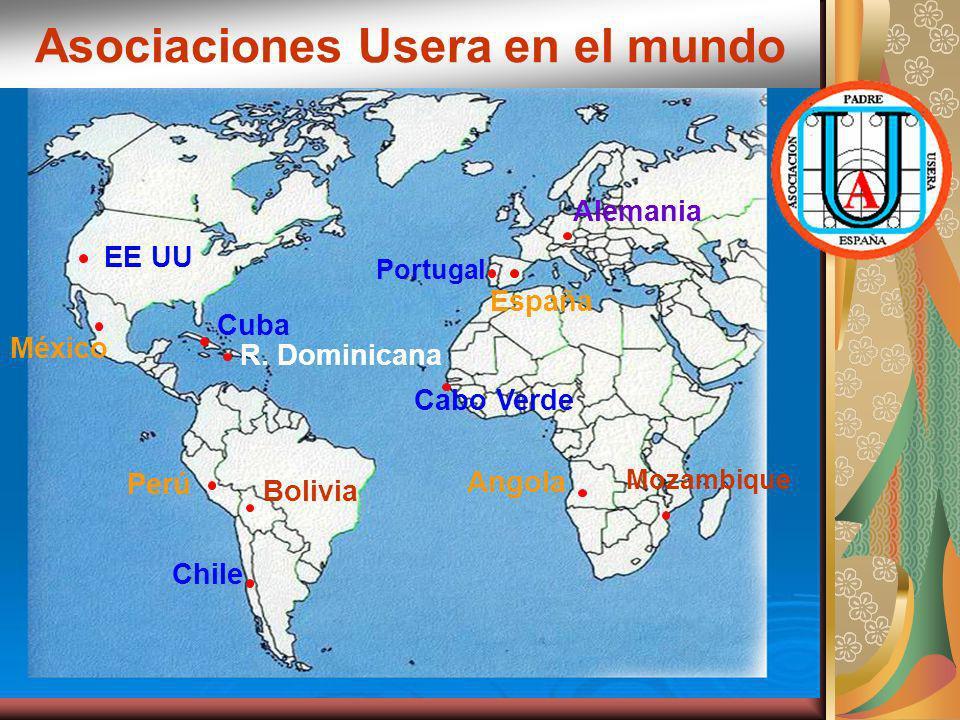 Asociaciones Usera en el mundo