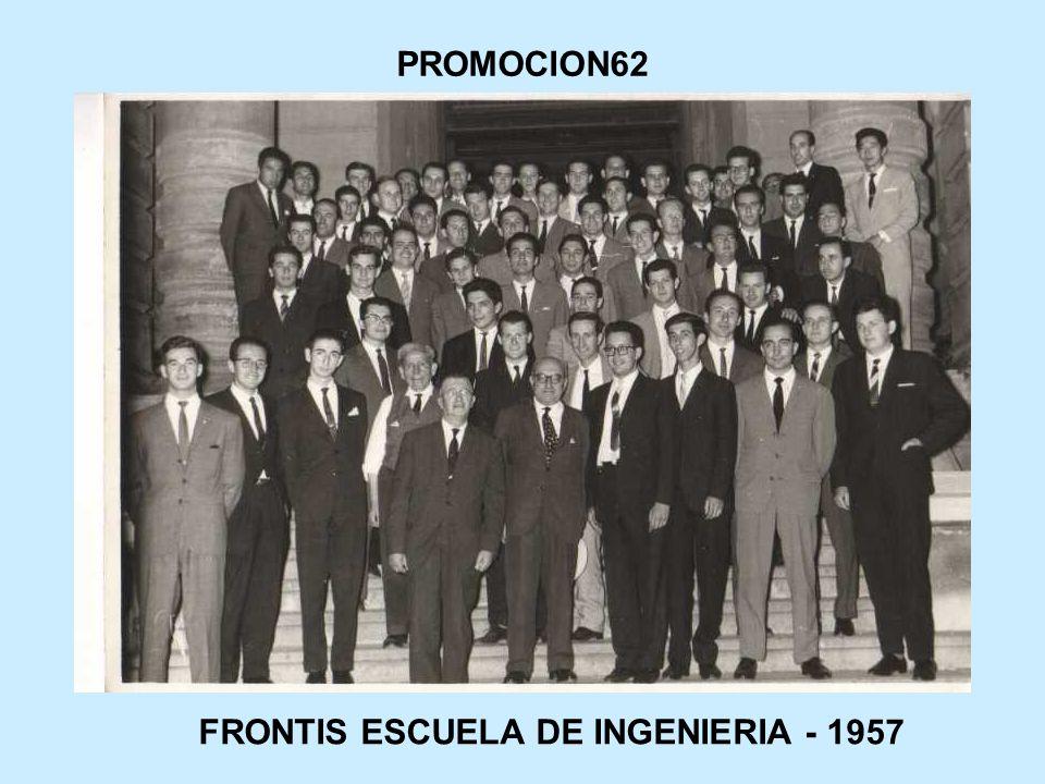 FRONTIS ESCUELA DE INGENIERIA - 1957